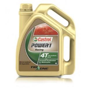 4L d'huile moteur CASTROL Power 1 Racing 4T 10W50